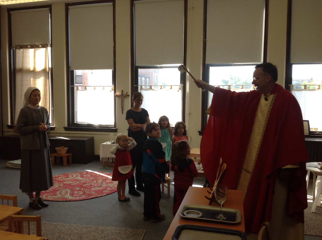 September, 2014 Blessing Of The CCD Classes