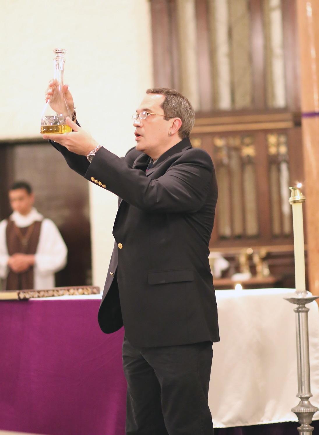 April 2014, Easter at St. Thomas the Apostle