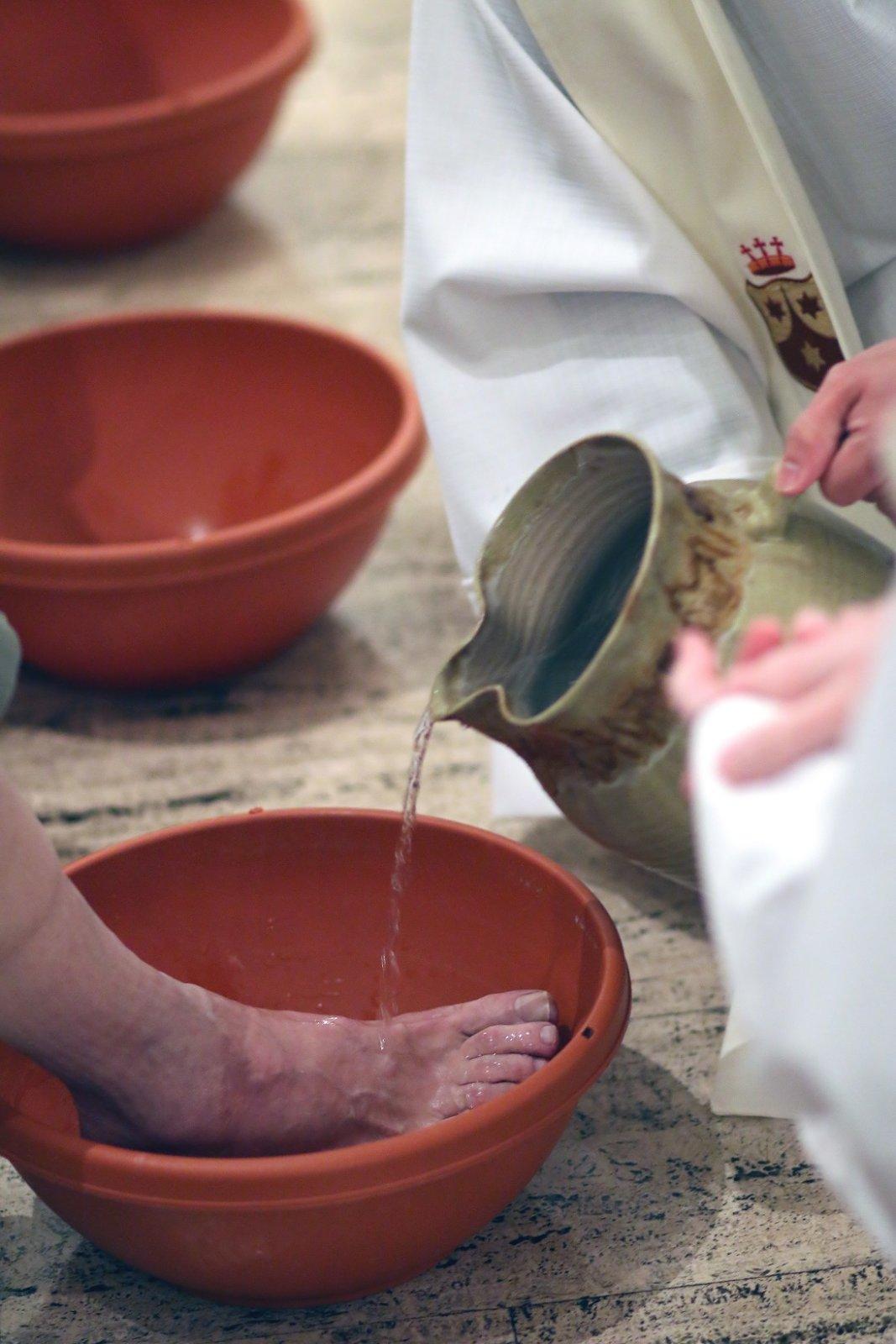 April 2014, Holy Thursday Mass