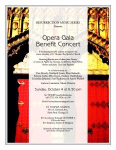 OPERA GALA BENEFIT Concert 10042015